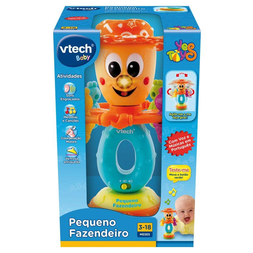 Brinquedo Chocaho de Atividades Pequeno Fazendeiro com som e luz