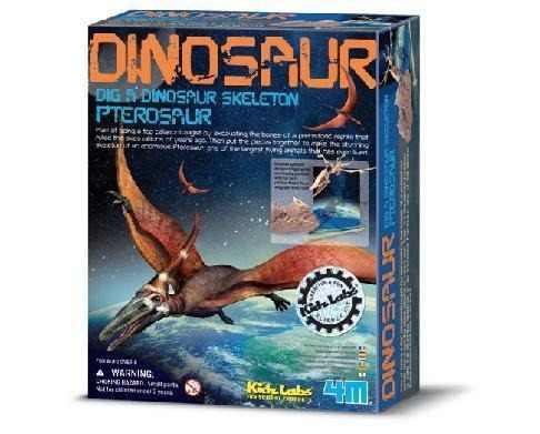 Brinquedo Científico Kit Escavação de Esqueleto Pterossauro