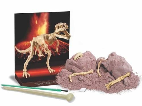 Brinquedo Científico Kit Escavação de Esqueleto Tiranossauro Rex