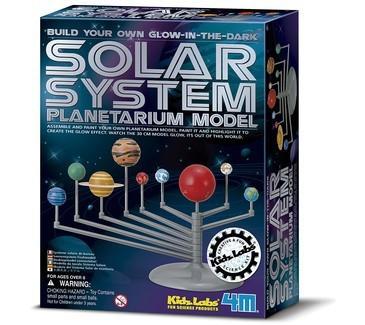 Brinquedo Científico Kit Planetário Sistema Solar