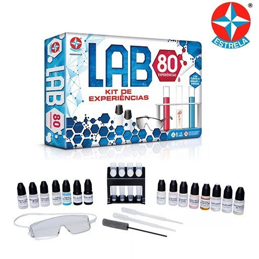 Brinquedo Cientifico Lab 80 Estrela