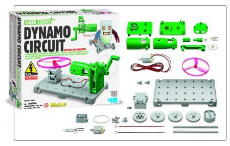 Brinquedo Científico Robótica Circuito Dínamo