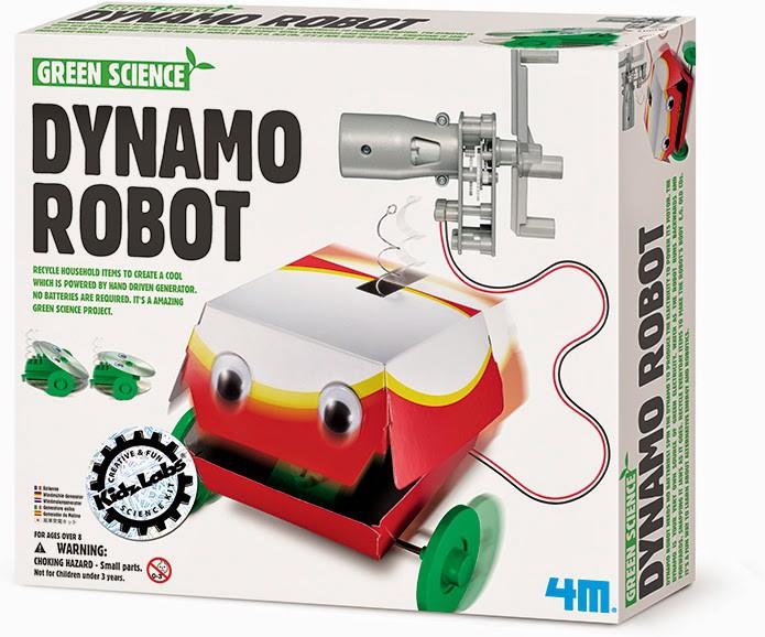 Brinquedo Científico Robótica Dynamo Robot