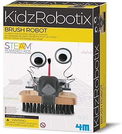 Brinquedo Científico Robótica Robo Escova