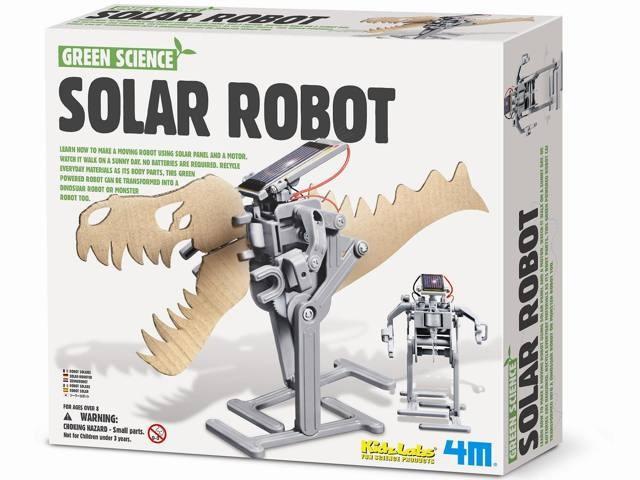 Brinquedo Científico Robótica Robô Solar