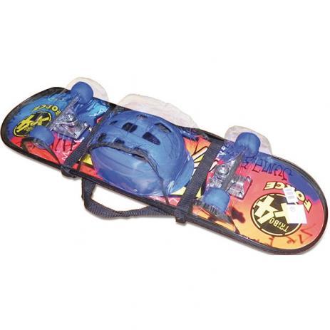 Brinquedo Conjunto Skate Force c/lixa e Acessórios