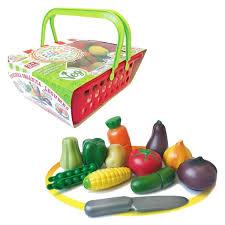Brinquedo Crec Crec Feirinha Orgânica Legumes Comidinha de Plastico