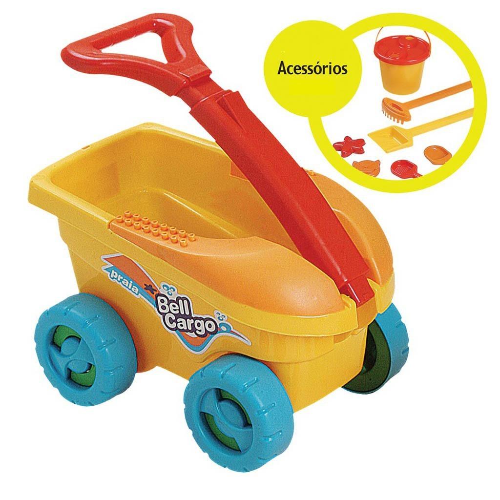 Brinquedo de Areia Bell Cargo Praia