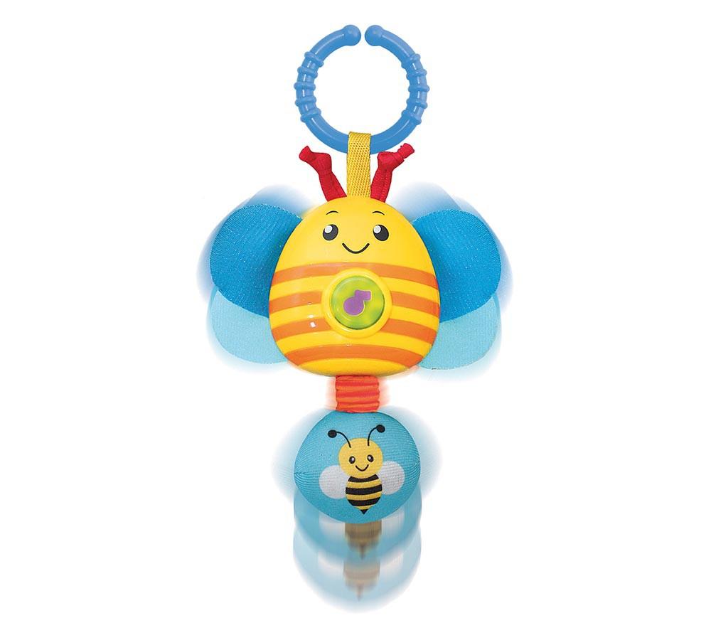 Brinquedo de Atividades Chocalho Musical com Som e Luz Abelha