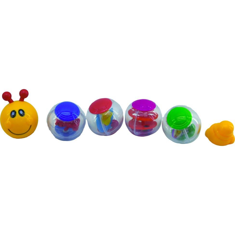 Brinquedo de Atividades Lagarta Bolinha Bee Me Toys