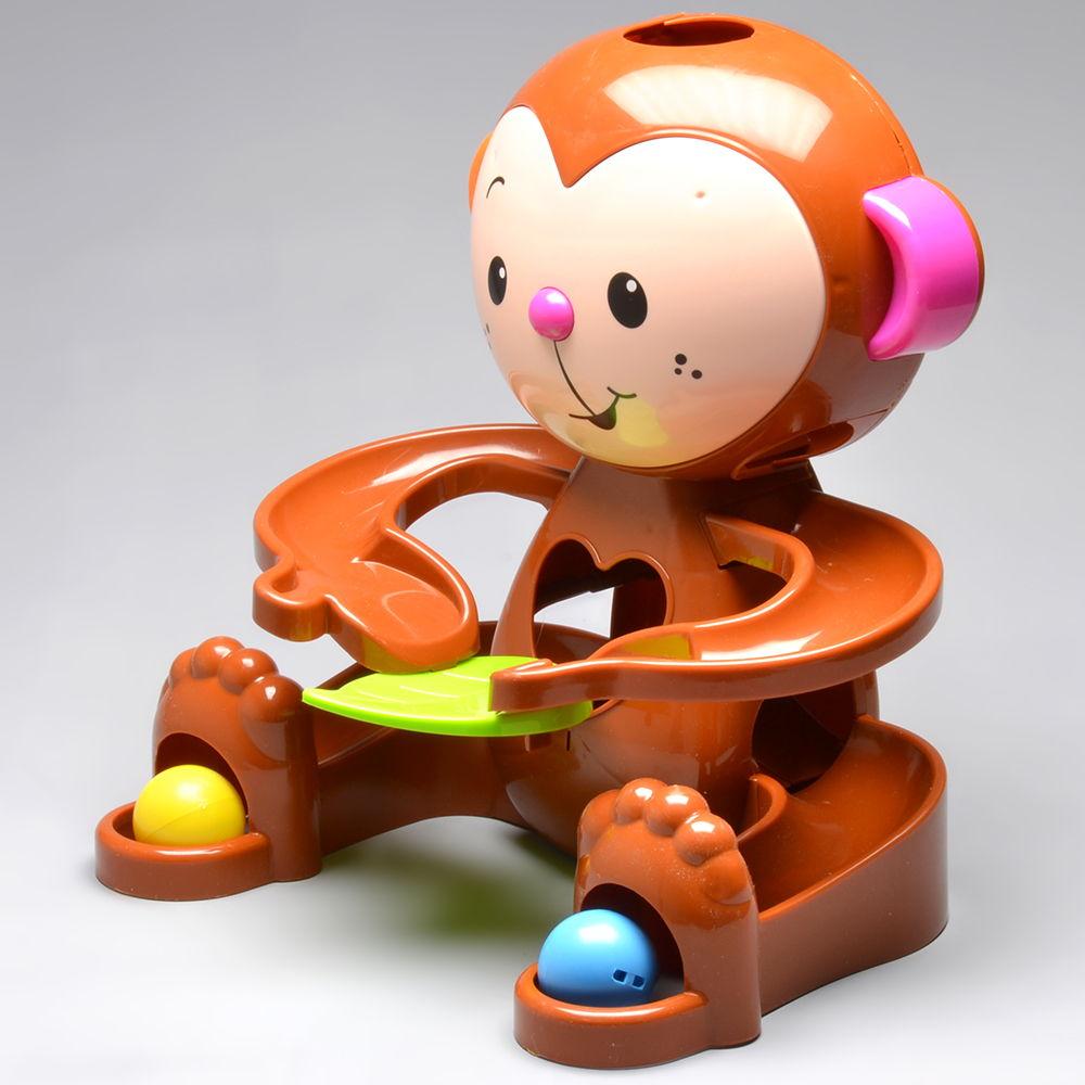 Brinquedo de Atividades Zuquinha Escorrega Bolinha