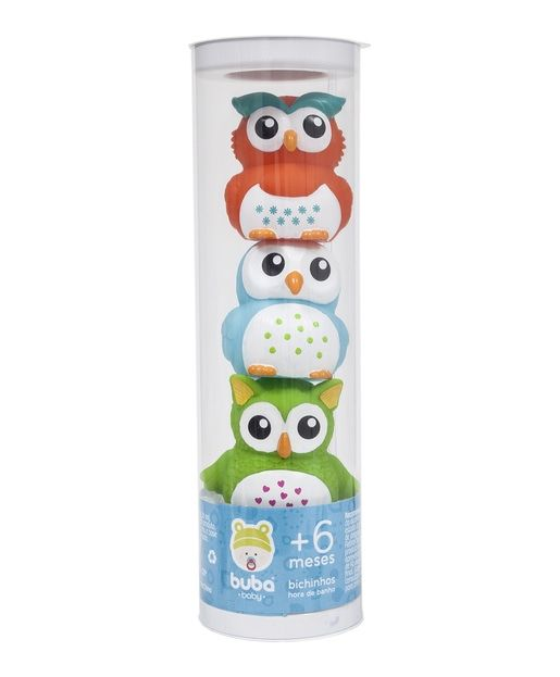Brinquedo de Banho  Bichinhos para Banho Coruja
