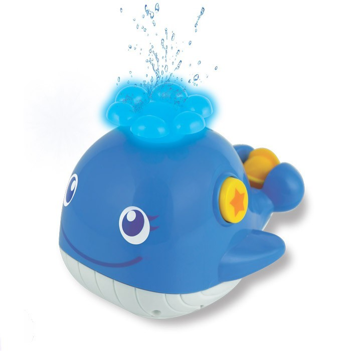 Brinquedo de Banho Diversão Aquática Baleia Musical WinFun Water Fun