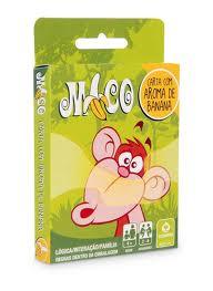 Brinquedo de Cartas  Educativo Mico com Cheiro de Banana