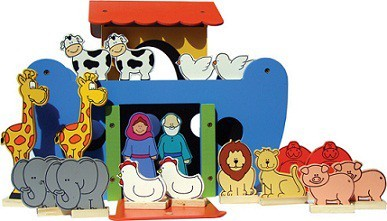 Brinquedo de Madeira Arca de Noé 3D