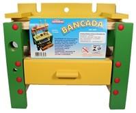Bancada de Ferramentas Brinquedo de Madeira