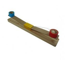Brinquedo de Madeira Basquete de 2 Copos
