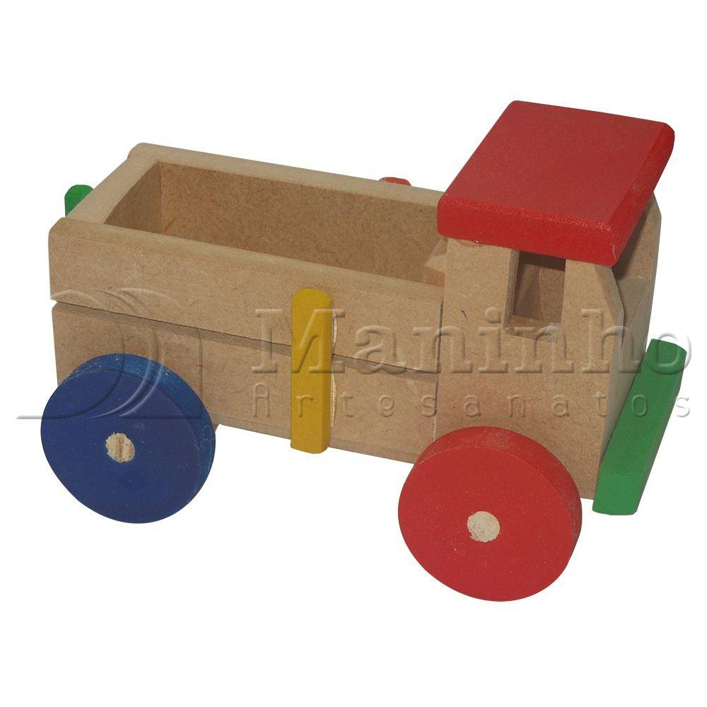 Brinquedo de Madeira Caminhão P