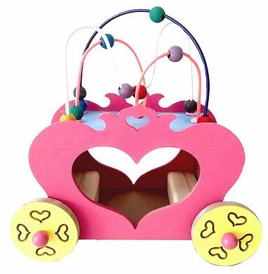 Brinquedo de Madeira Carruagem da Princesa