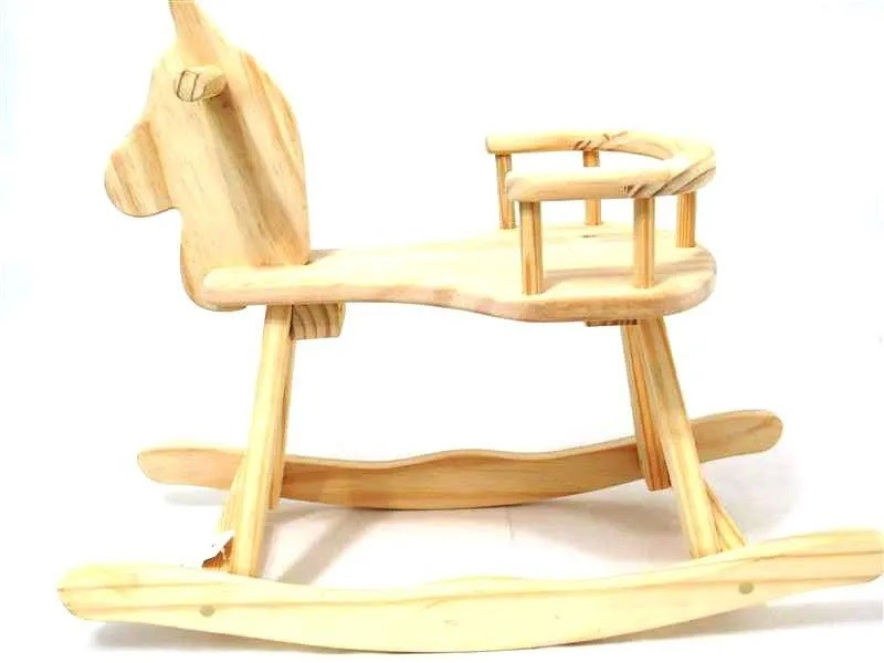 Cavalo de Balanço Mirim Brinquedo de Madeira
