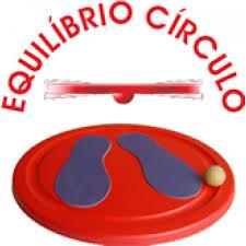 Equilíbrio Círculo Brinquedo de Madeira