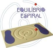 Brinquedo de Madeira Equilíbrio Espiral
