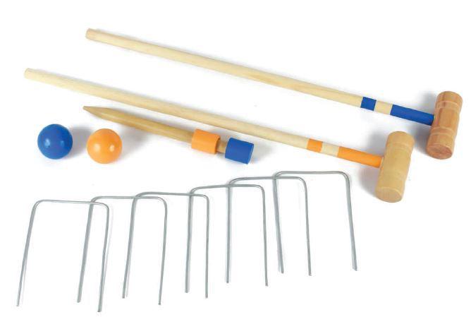 Brinquedo de Madeira Jogo Croquet