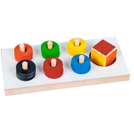Brinquedo de Madeira Jogo das Cores