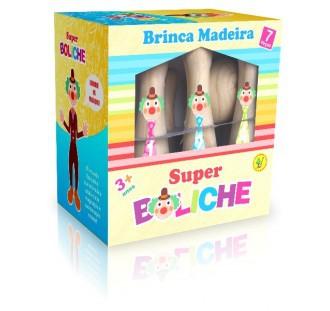 Brinquedo de Madeira Jogo de Boliche 2 Cara de Pau