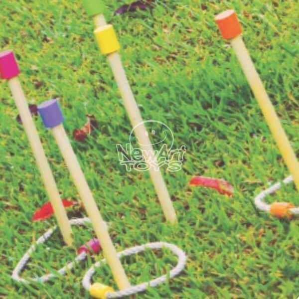 Brinquedo de Madeira Jogo Educativo Acerte o Alvo Estakitas