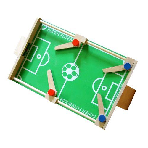 Brinquedo de Madeira Jogo Futebolim