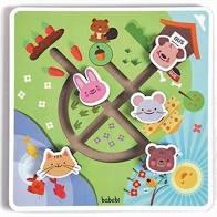 Brinquedo de Madeira Labirinto no Campo