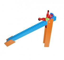 Brinquedo de Madeira Palhacinho na Rampa