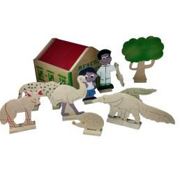 Brinquedo de Madeira Reserva Florestal
