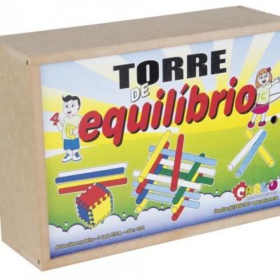 Brinquedo de Madeira Torre de Equilíbrio