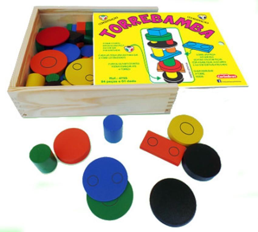 Brinquedo de Madeira Torrebamba