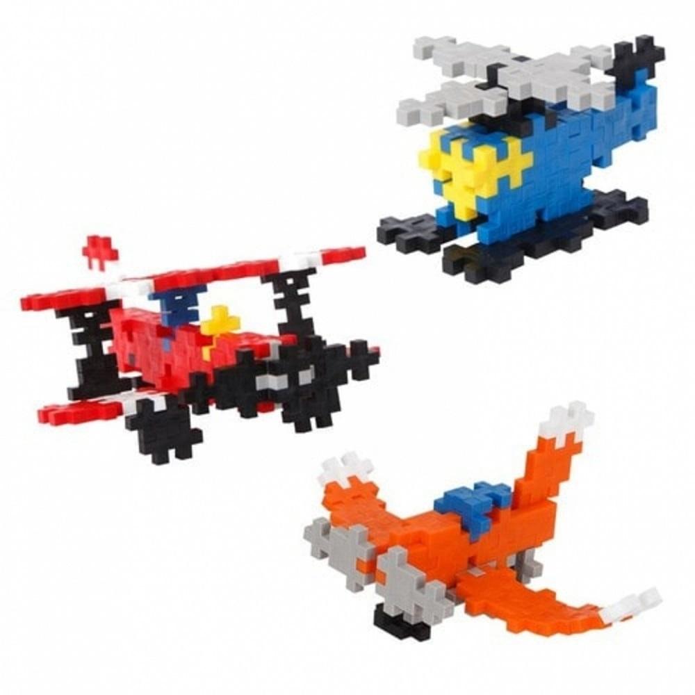 Brinquedo de Montar Mini Basic 170 Planes Blocos para Montar