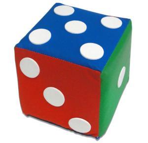 Brinquedo de Pano Cubo Dado com Pontos