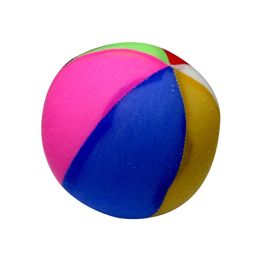 Brinquedo de Pelúcia Bola com Guizo
