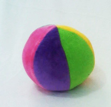 Brinquedo de Pelúcia Bola Pequena 11 cm de Diâmetro