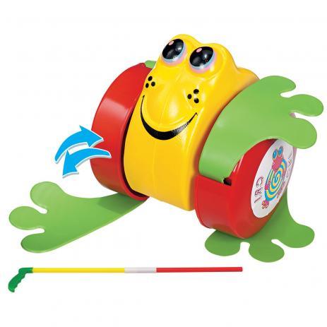 Rã na Solapa Sortidos Brinquedo de Puxar