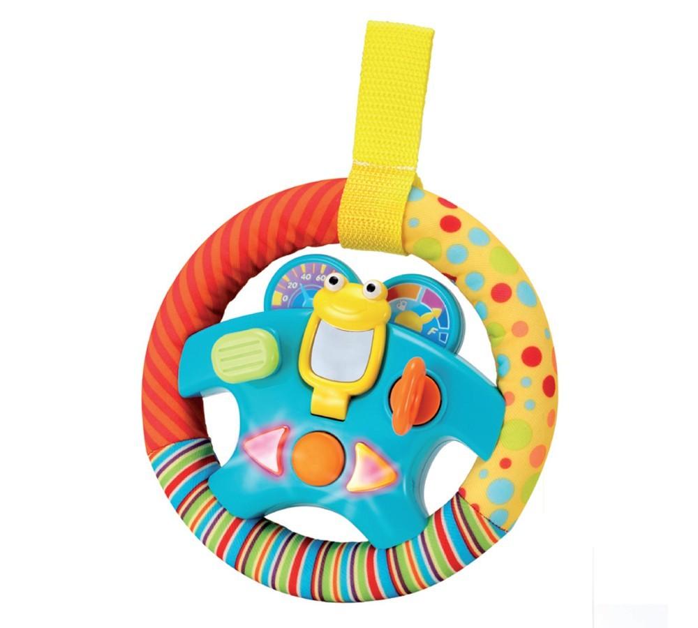 Brinquedo de Tecido Mordedor Chocalho Volante Musical Divertido
