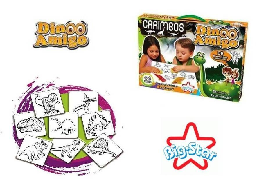 Brinquedo Dino Amigo Carimbo