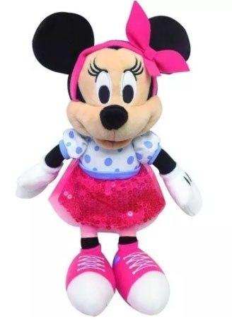 Brinquedo Disney Pelúcia Mickey & Minnie