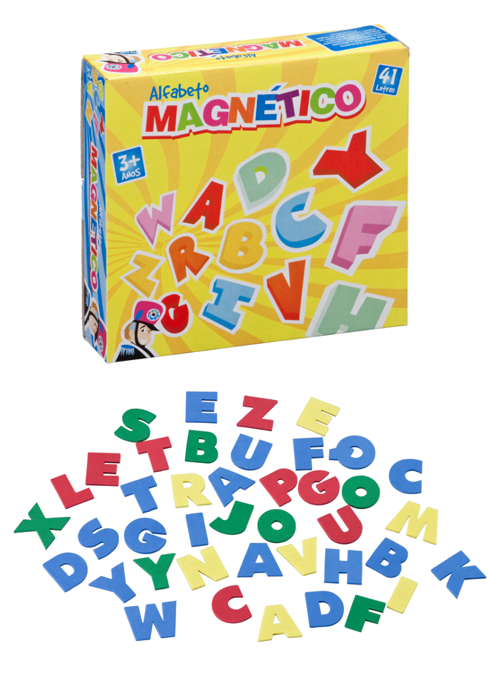 Alfabeto Magnético Brinquedo Educativo