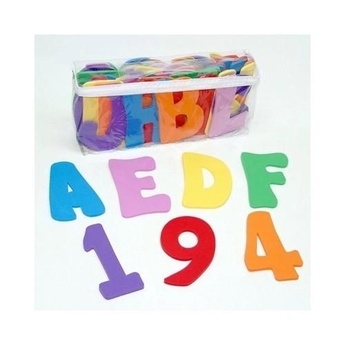 Brinquedo Educativo Alfanumérico para Banho