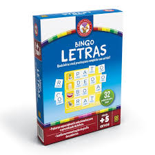 Brinquedo Educativo Bingo Letras Grow