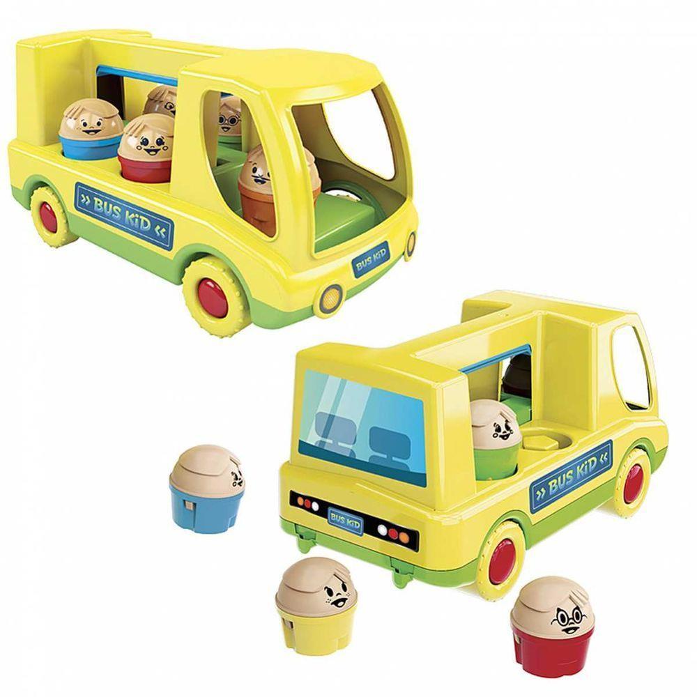 Brinquedo Educativo Bus Kid Dismat
