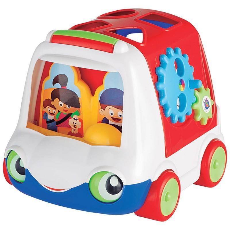 Brinquedo Educativo Camainhão Didático Baby Bus