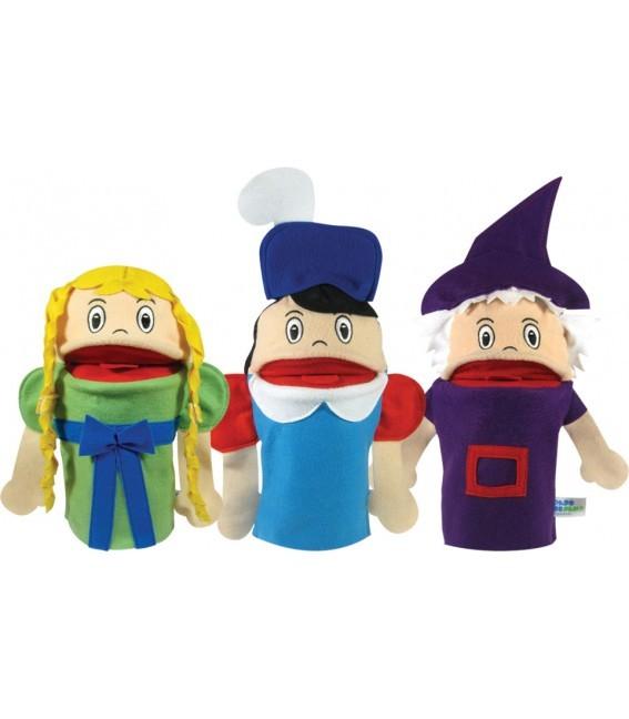 Brinquedo Educativo Conjunto de Fantoches Rapunzel